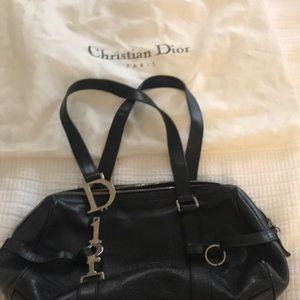 Christian Dior black handbag